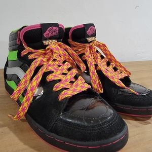 Vans Fourth-Four Hi Tops 80's/90's Style Colorful